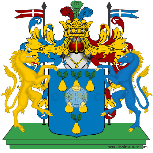 Coat of Arms of family Serrotti
