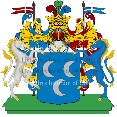 Coat of Arms of family Pesca