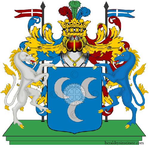 Coat of Arms of family Pescarzoli