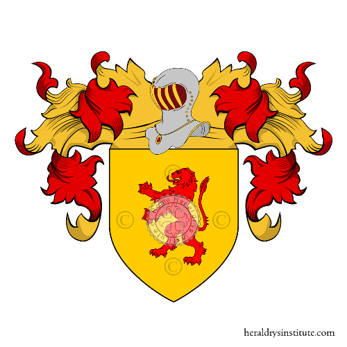 Coat of Arms of family Tomasei