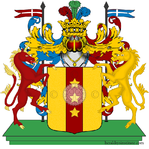 Coat of Arms of family De Petroni