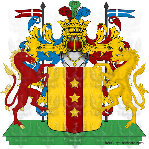 Coat of Arms of family Tommasoli
