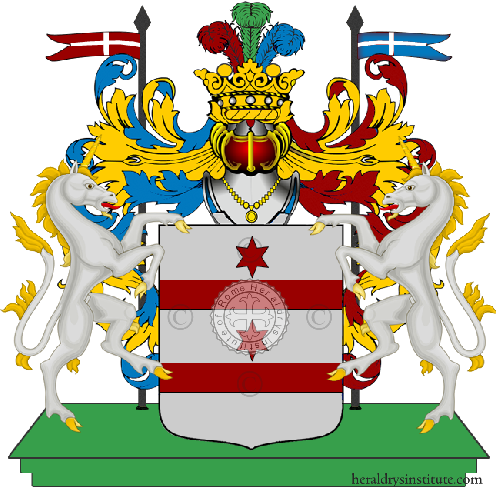 Coat of Arms of family Meraviglie