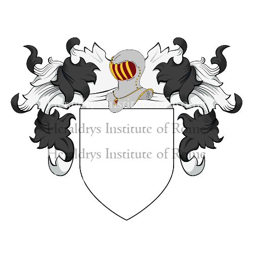 Coat of Arms of family Pezzolano