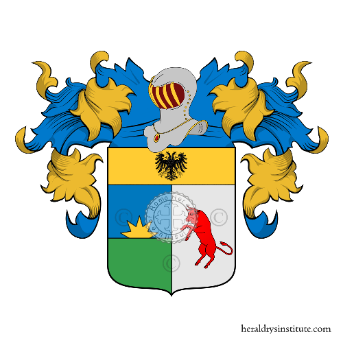 Coat of Arms of family Mescolini