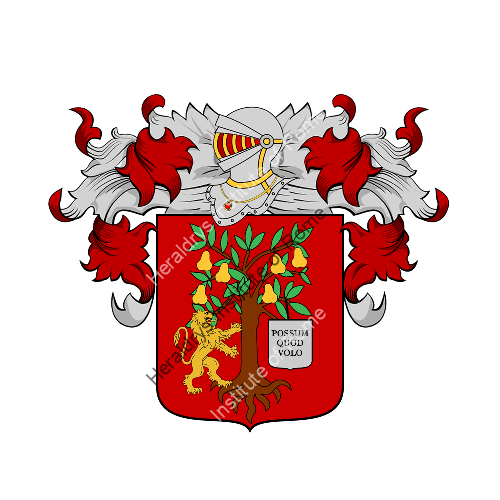 Coat of Arms of family Pirano
