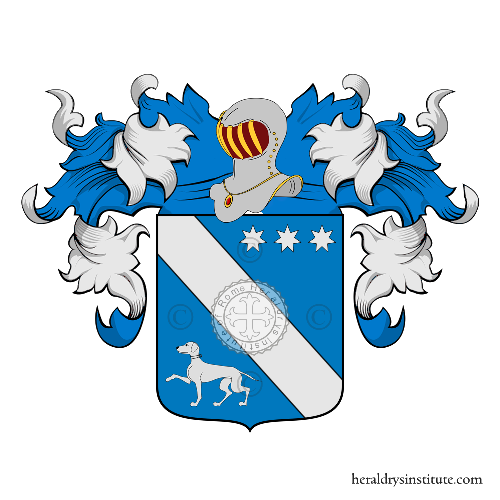 Coat of Arms of family Pisacano