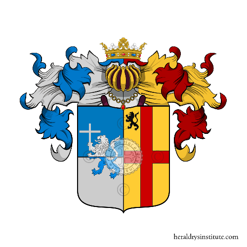 Coat of Arms of family Pisane