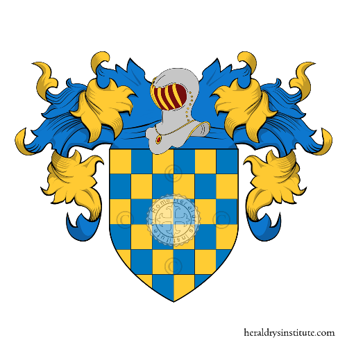 Coat of Arms of family Scacchiera