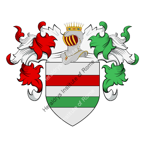 Coat of Arms of family Roncadese