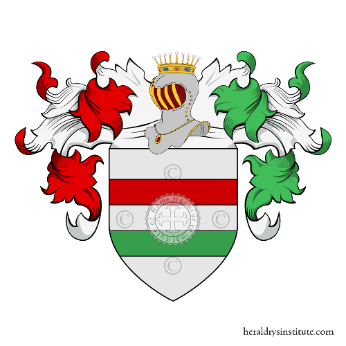 Coat of arms of family De Politi