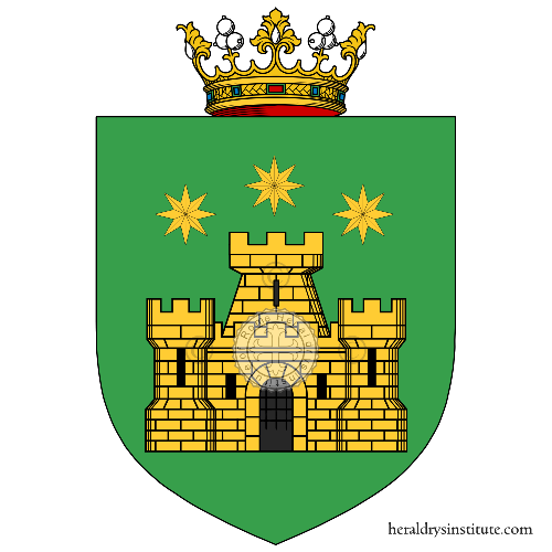 Coat of arms of family Sarani