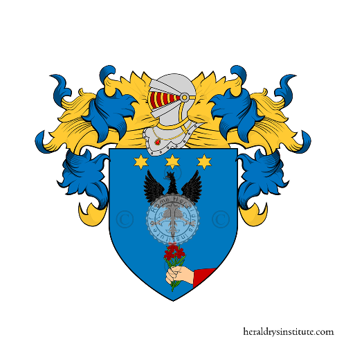 Coat of Arms of family Pratti