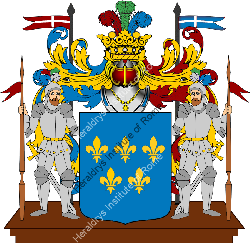 Coat of Arms of family Rondone