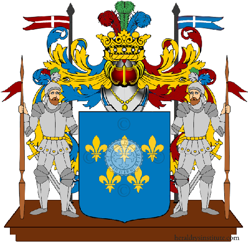 Coat of Arms of family Zalle