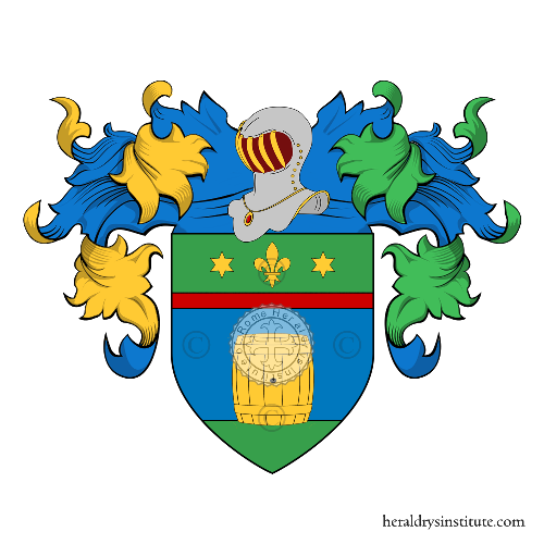 Coat of Arms of family Rosola