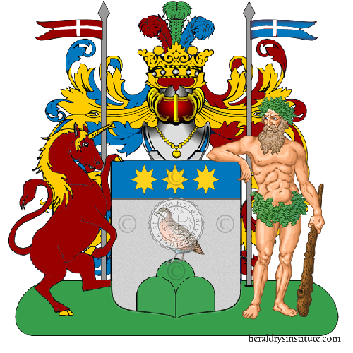 Coat of Arms of family Dentro