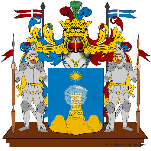 Coat of Arms of family Ragusani