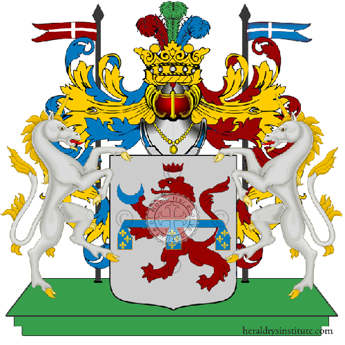 Coat of Arms of family Nerina