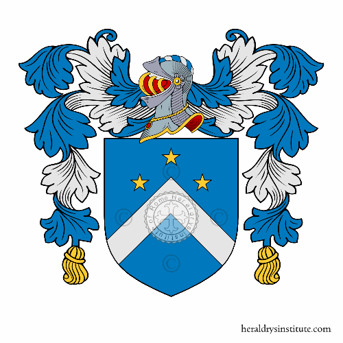 Coat of arms of family Ravelli