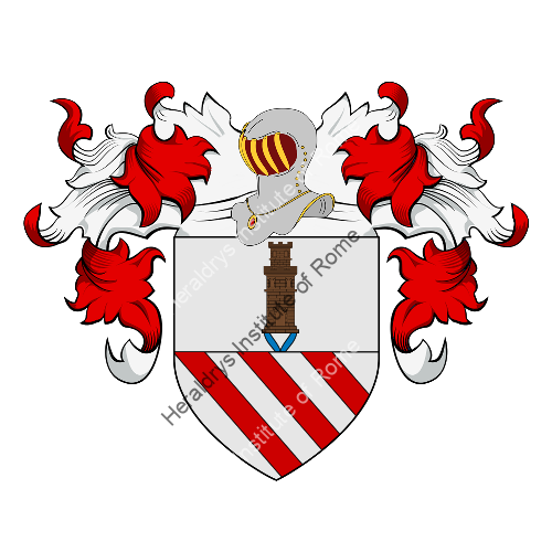Coat of Arms of family Barron