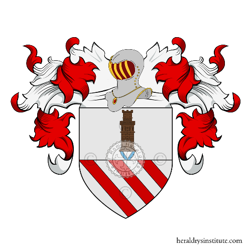 Coat of Arms of family Randa