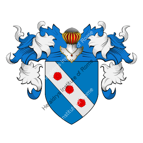 Coat of Arms of family Pingarelli