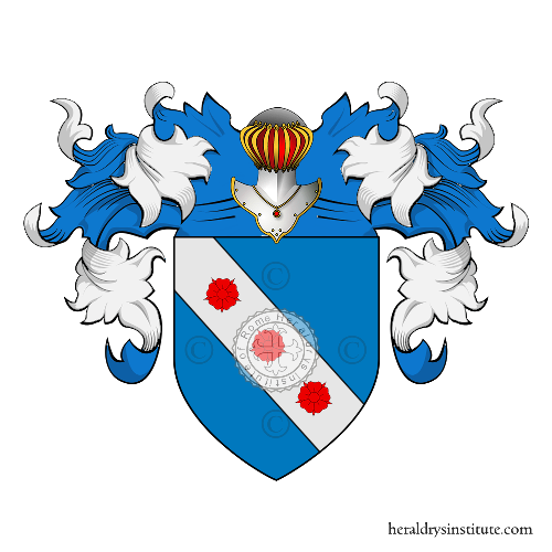 Coat of arms of family Prazio