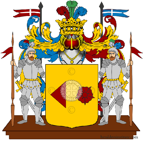 Coat of Arms of family Reggini