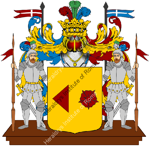 Coat of Arms of family Reginio