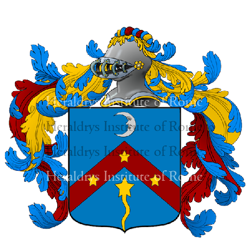 Coat of Arms of family Dinozzi