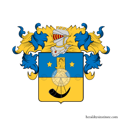 Coat of Arms of family Sarracco