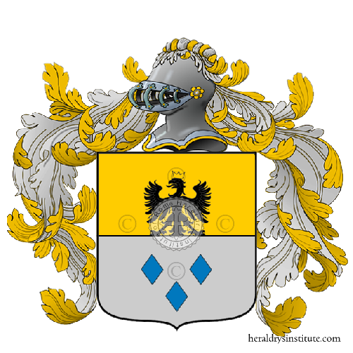 Coat of Arms of family Nessa