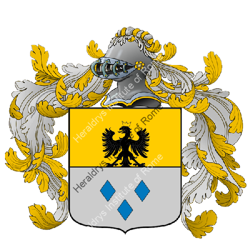 Coat of Arms of family Tessa