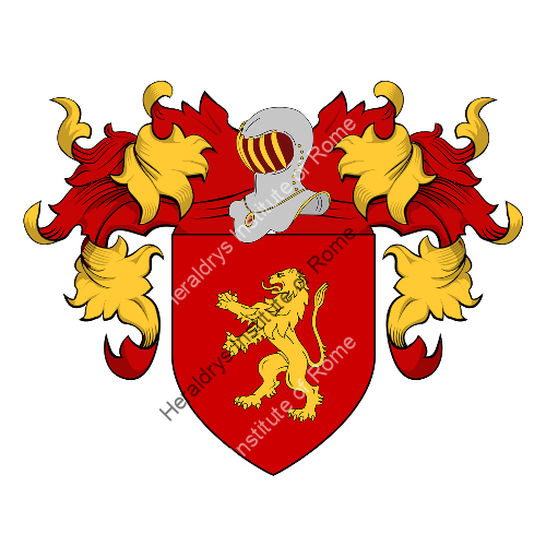 Coat of Arms of family Di Schiena