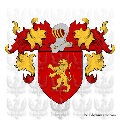 Coat of Arms of family Monia