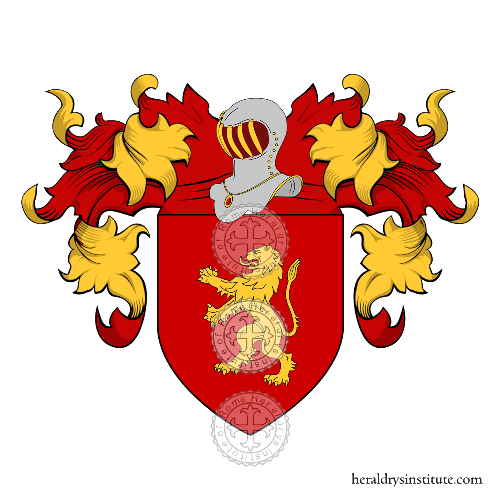 Coat of Arms of family Petrizzo