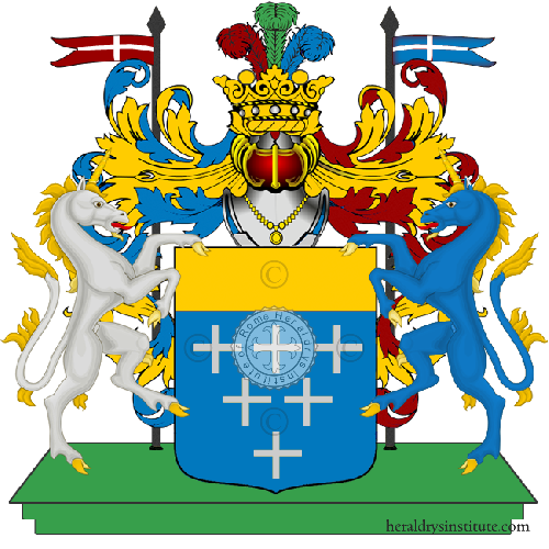 Coat of Arms of family Saca