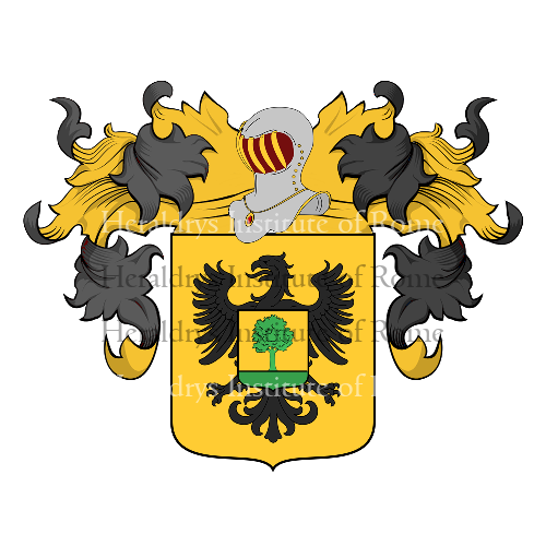 Coat of Arms of family Ronchi (Friuli)