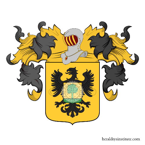 Coat of Arms of family Ronchiverdi