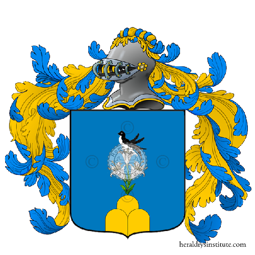 Coat of arms of family Lorano