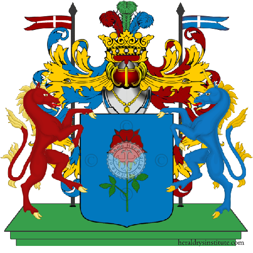 Coat of Arms of family Rovario