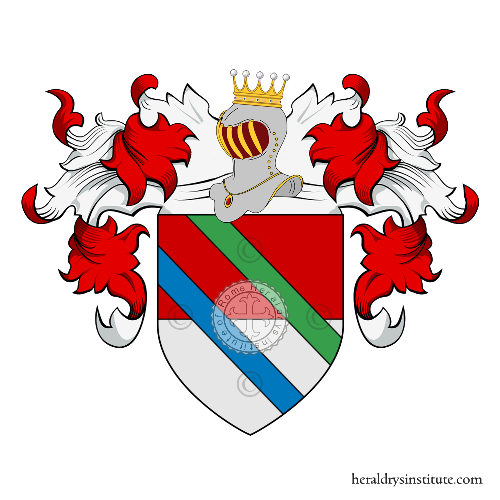 Coat of Arms of family Prossa