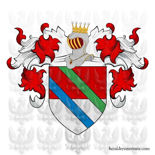 Coat of Arms of family Unite