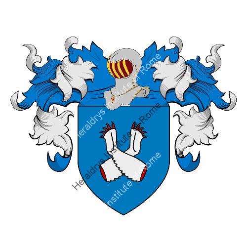 Coat of Arms of family Mussotti