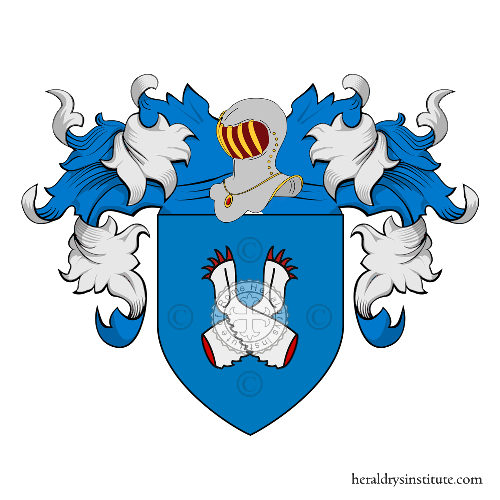 Coat of Arms of family Sanchini