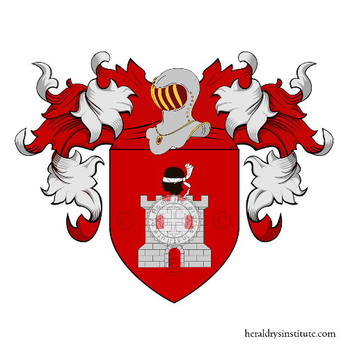 Coat of Arms of family Deschino