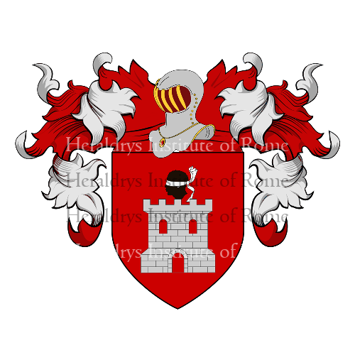 Coat of Arms of family Provelli