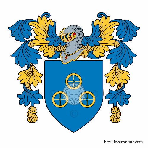 Coat of Arms of family Poveda