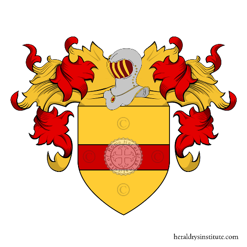 Coat of Arms of family Nivola